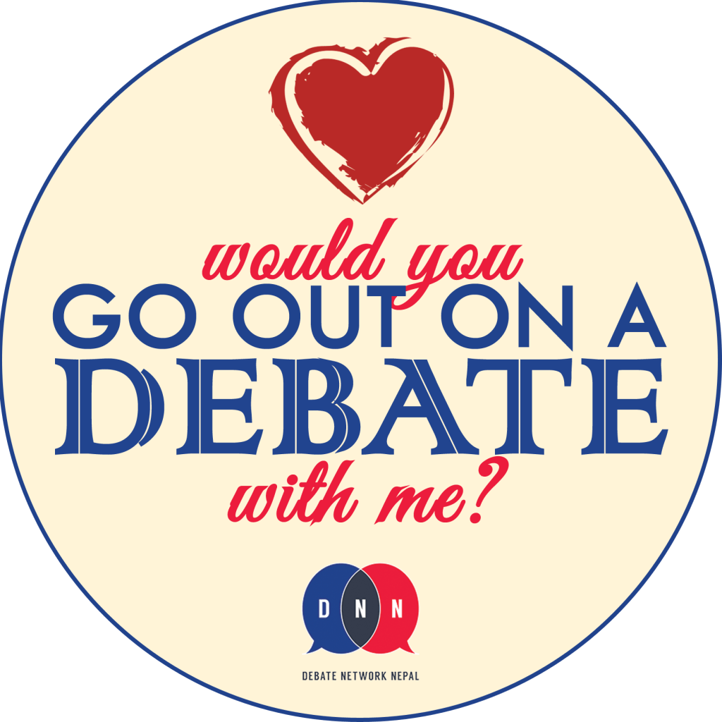 Go out on Debate
